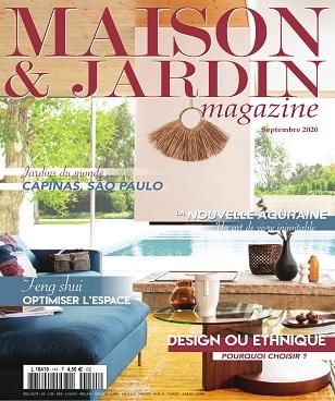 Maison et Jardin Magazine N°141 – Septembre 2020