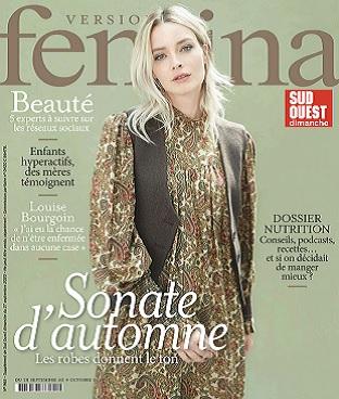 Version Femina N°965 Du 28 Septembre 2020