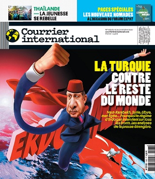 Courrier International N°1563 Du 15 Octobre 2020