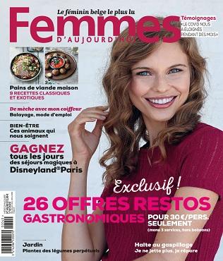 Femmes D'Aujourd'hui N°40 Du 1er Octobre 2020