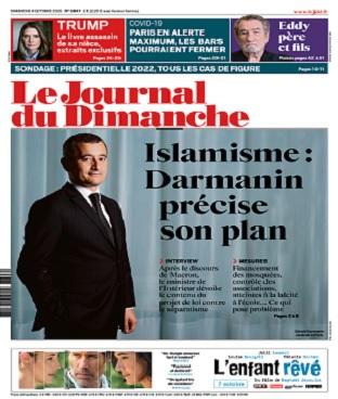 Le Journal Du Dimanche N°3847 Du 4 Octobre 2020