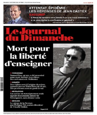 Le Journal Du Dimanche N°3849 Du 18 Octobre 2020