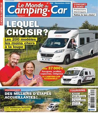 Le Monde Du Camping-Car N°326 – Novembre 2020