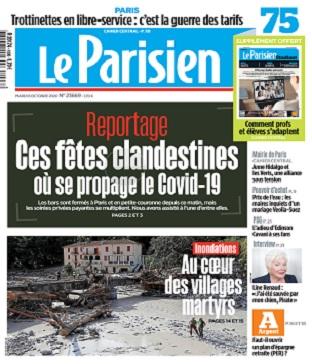 Le Parisien Du Mardi 6 Octobre 2020