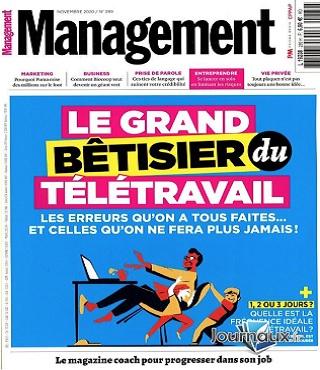 Management N°289 – Novembre 2020
