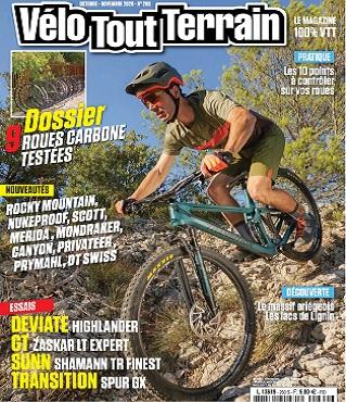 Vélo Tout Terrain N°260 – Octobre-Novembre 2020