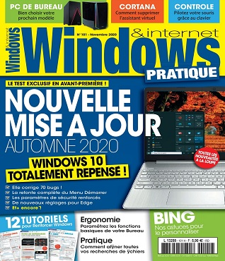 Windows et Internet Pratique N°101 – Novembre 2020