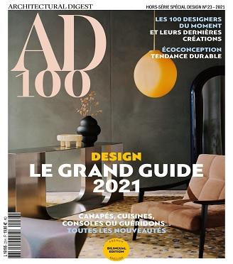 AD Architectural Digest Hors Série Spécial Design N°23 – Edition 2021