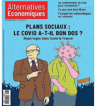 Alternatives Économiques N°407 – Décembre 2020