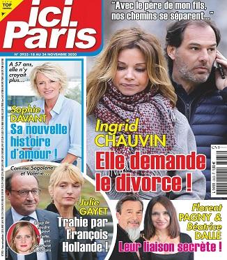 Ici Paris N°3933 Du 18 au 24 Novembre 2020