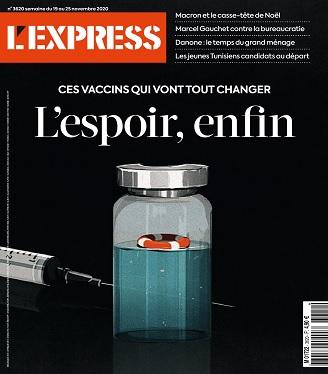 L'Express N°3620 Du 19 au 25 Novembre 2020