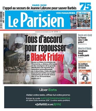 Le Parisien Du Vendredi 20 Novembre 2020