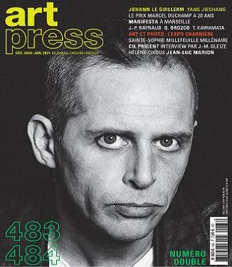 Art Press N°483 – Décembre 2020-Janvier 2021