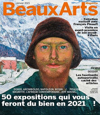 Beaux Arts Magazine N°439 – Janvier 2021