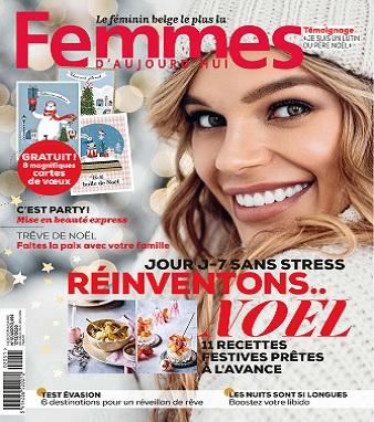 Femmes D'Aujourd'hui N°51 Du 17 Décembre 2020