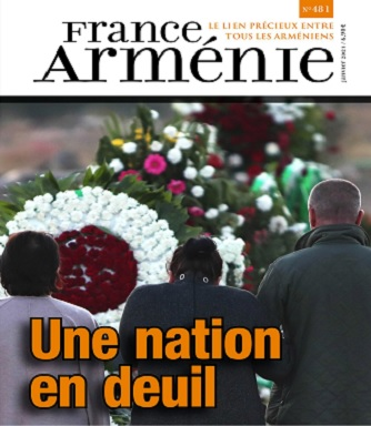 France Arménie N°481 – Janvier 2021