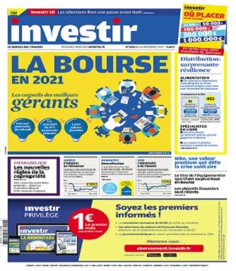 Investir N°2451 Du 26 Décembre 2020