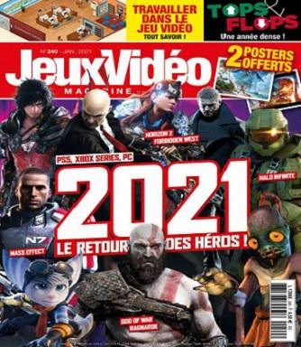 Jeux Vidéo Magazine N°240 – Janvier 2021