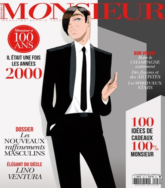 Monsieur Magazine N°146 – Décembre 2020-Janvier 2021