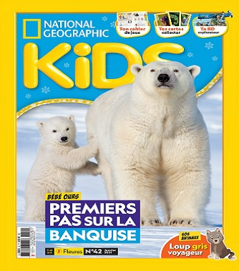National Geographic Kids N°42 – Janvier 2021