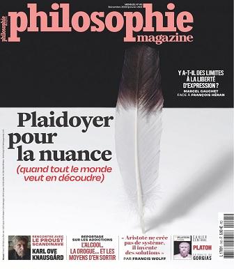 Philosophie Magazine N°145 – Décembre 2020-Janvier 2021