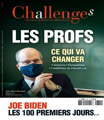Challenges N°682 Du 21 au 27 Janvier 2021