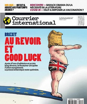 Courrier International N°1575 Du 7 Janvier 2021