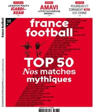 France Football N°3887 Du 12 Janvier 2021