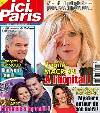 Ici Paris N°3941 Du 13 au 19 Janvier 2021