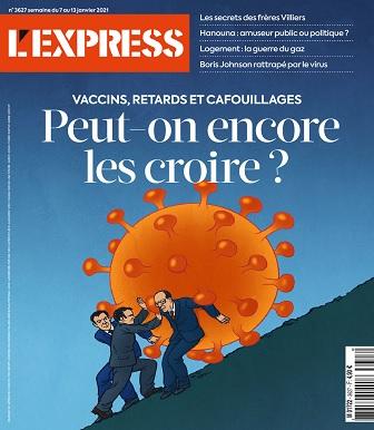 L'Express N°3627 Du 7 au 13 Janvier 2021