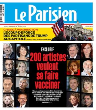 Le Parisien Du Jeudi 7 Janvier 2021