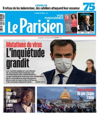 Le Parisien Du Vendredi 8 Janvier 2021