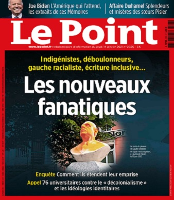 Le Point N°2526 Du 14 au 20 Janvier 2021