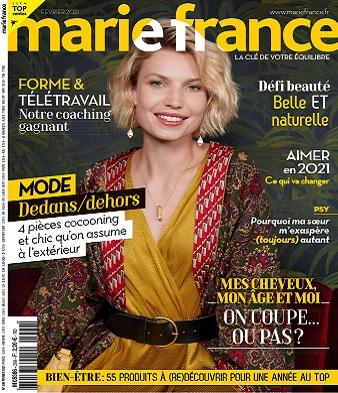 Marie France N°299 – Février 2021