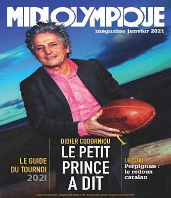 Midi Olympique Magazine N°219 – Janvier 2021
