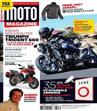 Moto Magazine N°373 – Février 2021