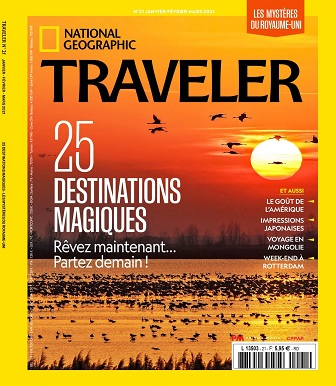 National Geographic Traveler N°21 – Janvier-Mars 2021