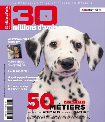 30 Millions d'Amis N°393 – Mars 2021