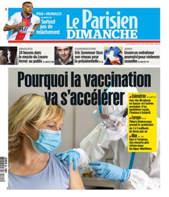 Le Parisien Du Dimanche 21 Février 2021