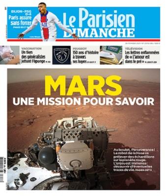 Le Parisien Du Dimanche 28 Février 2021