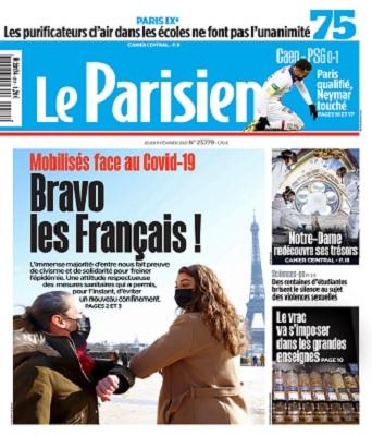Le Parisien Du Jeudi 11 Février 2021