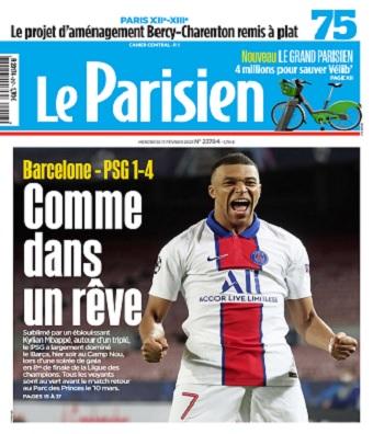 Le Parisien Du Mercredi 17 Février 2021