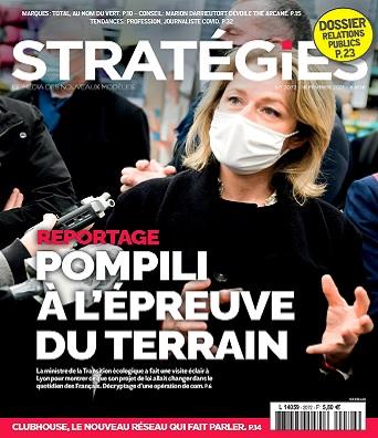 Stratégies N°2072 Du 18 au 24 Février 2021