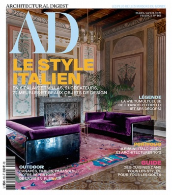 AD Architectural Digest N°165 – Mars-Avril 2021
