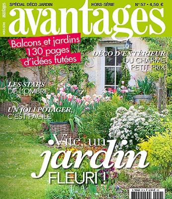 Avantages Hors Série N°57 – Spécial Déco Jardin 2021