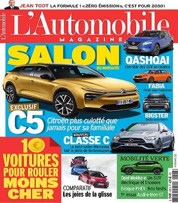 L'Automobile Magazine N°898 – Mars 2021