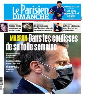 Le Parisien Du Dimanche 21 Mars 2021
