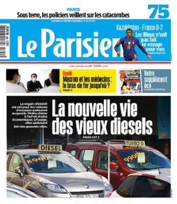 Le Parisien Du Lundi 29 Mars 2021