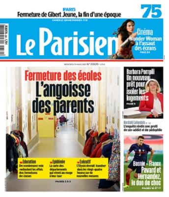 Le Parisien Du Mercredi 31 Mars 2021