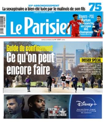 Le Parisien Du Samedi 20 Mars 2021
